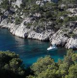 Splendid southern France coast Stock Images