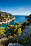 Splendid southern France coast Royalty Free Stock Images