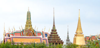 Splendid Thai temple Royalty Free Stock Image