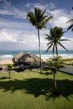 Splendid views of the Atlantic Ocean in Dominicana Royalty Free Stock Photo