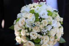 Splendid wedding bridal bouquet Royalty Free Stock Images