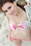 Splendid woman with bikini Stock Image