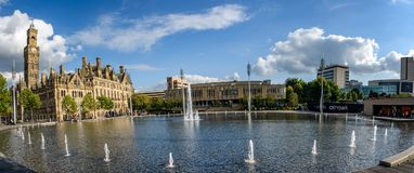 City Park Bradford UK Royalty Free Stock Images