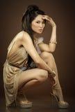 Splendor azjatycka kobieta zdjęcia stock