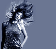 Splendor kobieta elegancka piękna Zdjęcie Royalty Free