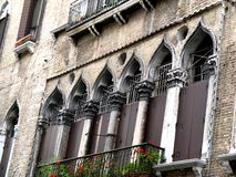 Splendor and luxury in Venice. Building in Venice. Stock Photography