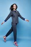 Splendor mody stylu kobiety pięknych seksownych ubrań przypadkowy kostium s Zdjęcia Royalty Free