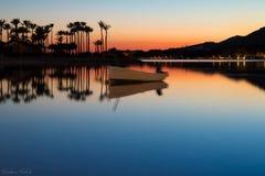 Splendor of the seas - Sunset  Royalty Free Stock Photography