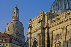 Splendore di Dresda Fotografie Stock Libere da Diritti