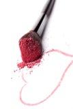 Luksusowy splendoru makeup tło. Fotografia Stock