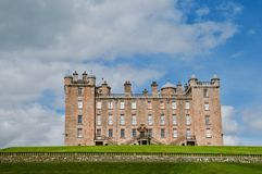 Splendour of the castle. Drumlanrig castle and gardens Drumfries and Galloway Scotland united kingdom stock image