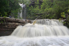 Splendour of a Waterfall Stock Photos