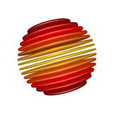 Sliced Sphere Royalty Free Stock Photography
