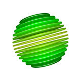 Sliced Sphere Royalty Free Stock Image
