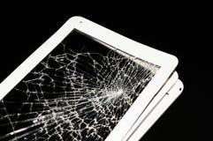 Splintered tablet Stock Image