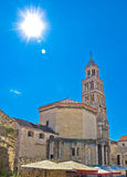 Split ancient cathedral verical view Stock Photos