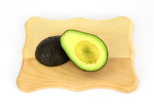 Split Avocado Stock Image