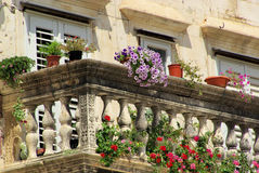 Split balcony Royalty Free Stock Image