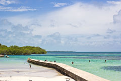 The Split, Belize Royalty Free Stock Image