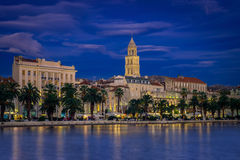 Split & Blue Hour Stock Photography