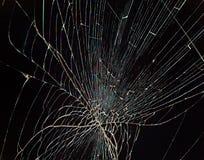 Split broken LCD screen. (display) background stock photography