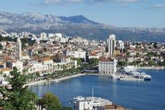Split - Panorama Royalty Free Stock Photos