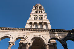 Split Cathedral belfry Royalty Free Stock Photography
