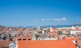 Split city view, Croatia Stock Images