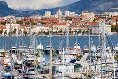 Split Cityscape Stock Images