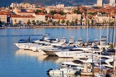 Split Cityscape Royalty Free Stock Photo