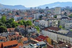 Split cityscape. Mediterranean city in Croatia Royalty Free Stock Photography