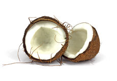 Split Coconut Stock Images