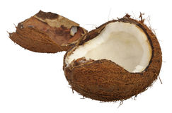 Split coconut Stock Photos