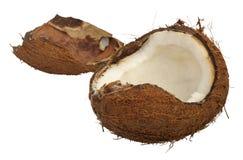 Split coconut Stock Photos