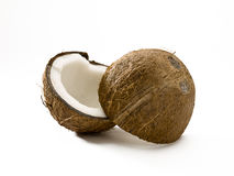 Split coconut Stock Image