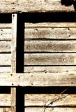 Old weathered wooden pallet Royalty Free Stock Images