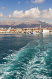 Split, Croatia on the Adriatic Sea Royalty Free Stock Photography