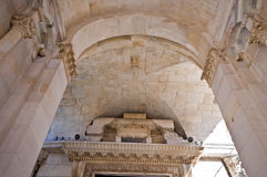 Split - Croatia. Ceiling of the entrance of the church Royalty Free Stock Photos