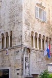 Split, Croatia Ciprianis-Benedetti palace Stock Photography