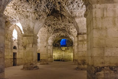 Split, Croatia Diocletian palace substructures Royalty Free Stock Photo