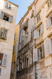 Split, Croatia Gothic building Bosanska Stock Photography