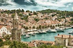 Split in Croatia HDR Royalty Free Stock Images