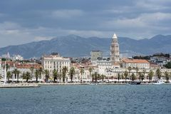 Diocletian`s Palace. Split, Croatia. Stock Photo