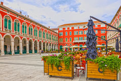 Split, Croatia, old town square Stock Images