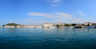 Split - Croatia panorama Royalty Free Stock Photo