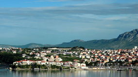 Split, Croatia panorama stock video