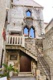 Split, Croatia Papalic palace stock image