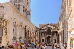 Split, Croatia Peristyle stock photos