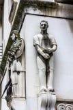 Split, Croatia, sculptures of histirocal building Royalty Free Stock Image