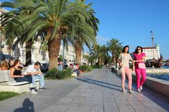 Split, Croatia royalty free stock images